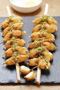 Les grenouilles de la Dombes. A deguster dans les restaurants de l'Ain. France.