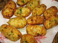 Bolinho de Arroz Delícia | Pães e salgados > Bolinho de arroz | Receitas Gshow