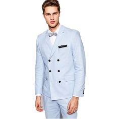 a5d89d70f15cf  gt  gt  Click to Buy  lt  lt  Custom made men suits Light
