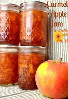 Carmel Apple Jam recipe made with the @Ball® Canning FreshTech Jam & Jelly Maker.