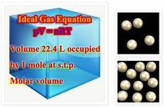 Chemistry - High School Molar volume,Pressure,Molecule เคมี ข้อสอบเข้ามหาวิทยาลัย โมล โมเลกุล ปริมาตร ความดัน http://chemistry-thailand.blogspot.com/2014/04/molar-volume.html