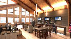 Image result for craftsman interior cafe