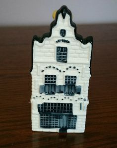 Delft Blue KLM Bols Mini Canal House #20 by EmptyNestVintage on Etsy