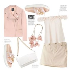 New Nudes by hattie4palmerstone on Polyvore featuring Topshop, McQ by Alexander McQueen, Mountain Khakis, Simone Rocha, Chanel and Lanvin
