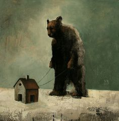 Visual artist Samuli Heimonen Pet. Acrylic and oil on canvas. 55cm x 45cm. 2010
