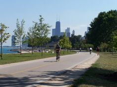 Chicago Lakefront Trail in Chicago, IL