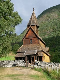 Urnes Stave Church, the oldest stave church still standing in Norway.