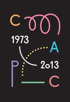 Le CAPC a 40 ans. Conception graphique : Ill-Studio, Paris