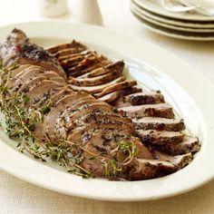 The Chew | Recipe  | Weight Watchers Roasted Pork Tenderloin