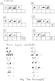 Blog para la enseñanza de música en primaria. Music Math, Music Class, Teaching Music, Music Education, Music Theory Worksheets, Violin Sheet Music, Music Activities, Music Lessons, Kids And Parenting