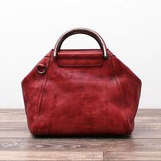 Leather Messenger Bag Women Shoulder Bag Satchel Bag WF52 - ArtofLeather