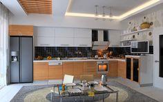 3D Mutfak Tasarım
