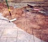 Stamped concrete sealers, How to choose the right concrete sealer for interior stamped concrete and exterior stamped concrete. House Paint Interior, Interior Stairs, Interior Garden, Stamped Concrete Sealer, House Painting, Backyard, Patio, Projects, Porch