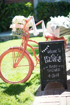 Party decorations at a Gender Neutral Baby Shower! See more party ideas at CatchMyParty.com!