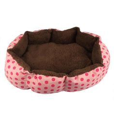 2016 New Soft Fleece Pet Dog Nest Bed Puppy Cat Warm Bed House Plush Cozy Nest Mat Pad Dot 4 Colors Freeshipping Taotown Puppy Beds, Dog Beds, Pet Dogs, Dogs And Puppies, Dog Cave, Puppy House, Warm Bed, Bed Mats, Dog Pattern