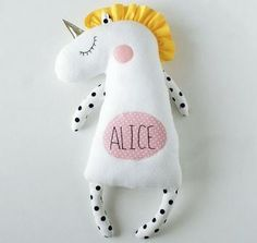 Personalized baby gifts Personalized unicorn plush Unicorn birthday party Unicorn for baby shower Unicorn for babies Unicorn for girls toys / Единорд, Party Unicorn, Unicorn Birthday, Toy Unicorn, Unicorn Gifts, Baby Birthday, Birthday Gifts For Girls, Baby Girl Gifts, Birthday Ideas, Birthday Parties