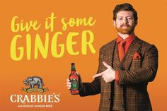 BEER NEWS: Crabbie's becomes the official sponsor of the TV show TFI Friday.