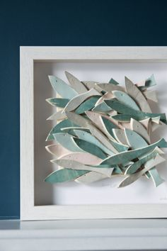 Keramische Wandkunst Keramik Fisch Art skulpturale von karoArt