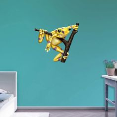 Fathead Golden Frog Wall Decal - 68-68006