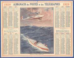 Almanach des Postes 1929