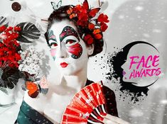 Adryenn Beauty: Pillangókisasszony | NYX Face Awards Hungary 2018 ... Face Awards, Nyx, Hungary, Halloween, Makeup, Beauty, Make Up, Beauty Makeup, Beauty Illustration