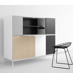 Vision Elements Anniversary Cabinet by Pastoe Tv Cabinets, Storage Cabinets, Living Furniture, Furniture Design, Room Interior, Interior Design, Muebles Living, Sustainable Design, Sideboard