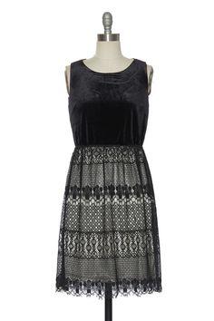 Smitten With the Night Velvet Dress | Vintage, Retro, Indie Style Dresses