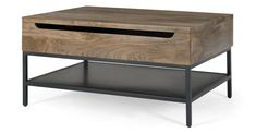 Black Coffee Tables, Lift Top Coffee Table, Coffee Table With Storage, Decoration, Home Furnishings, Kids Room, Sweet Home, New Homes, Wood
