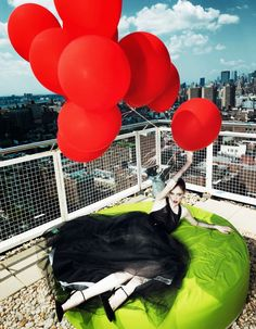 coco rocha fashion2 Coco Rocha Wows in Fall Looks for Harpers Bazaar China Cover Story