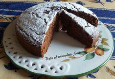 Torta al #cioccolato fondente sofficissima!
