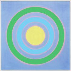 "Mysteries: Tide, 2002. acrylic on canvas, 84"" x 84"" (213.4 cm x 213.4 cm)."