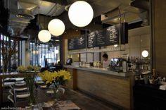 Like the design concept of this cafe!  -Greyhound Cafe, chic urban cafe - Bangkok