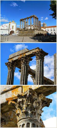 Évora: the roman Temple of Diana - Portugal #PORTUGALmilenar