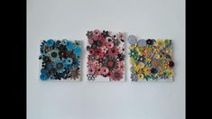 This is a wall decoration with my wall hangings made of paper Wall Hangings, House Colors, Floral Tie, Wall Decor, Decoration, Paper, Ideas, Home, Wall Hanging Decor