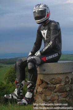 Biker Gear, Motorcycle Gear, Bicycle Helmet, Motorcycle Leather, Biker Leather, Biker Style, Bikers, Hot Guys, Surfing
