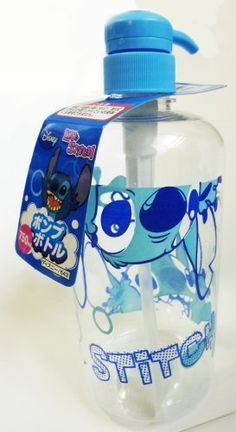 Lilo & Stitch Pump Bottle for Shampoo etc | 750ml | Disney Licensed (Japan Import) by Lilo & Stitch, http://www.amazon.com/dp/B00CM56RAI/ref=cm_sw_r_pi_dp_l8pYrb15E3S3G