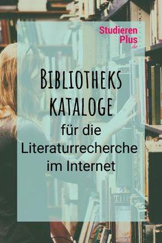Bibliothekskataloge sind eine sehr gute Möglichkeit, um Publikationen zu finden, die du für Haus- und Abschlussarbeiten verwenden kannst. Hier findest du einige Beispiele für Bibliothekskataloge, die sehr nützlich sein können. #hausarbeit #bachelorarbeit #studium Internet, Uni, Life, To Study, Finals