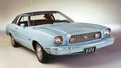 Ford Mustang II, I had this exact same car...(My first car) I had 2 of them actually.