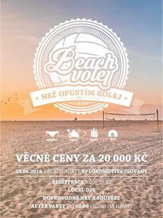Pavel Mesner - Posters Electro Swing, Vintage Cafe, Summer 2016, Posters, Graphic Design, Beach, Party, Vintage Coffee, The Beach