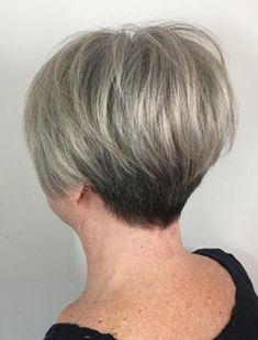 The Best Hairstyles and Haircuts for Women Over 70 Cendré blonde balayage pixie Short Grey Hair, Short Hair With Layers, Short Hair Cuts For Women, Short Hairstyles For Women, Short Cuts, Fine Hair Styles For Women, Short Wedge Hairstyles, Short Stacked Haircuts, Short Stacked Bobs