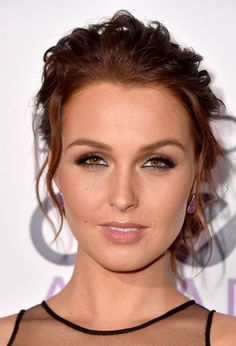 Camilla Luddington picture from the 2015 People's Choice Awards. Actress Camilla Luddington of Grey's Anatomy attends The Annual People's Choice Awards at Nokia Theatre LA Live on January 2015 in Los Angeles, California. Grey's Anatomy, Camilla Luddington, William Kate, Camilla Belle, Messy Updo, Prom Hair, Beautiful Actresses, Pretty Hairstyles, Girl Pictures