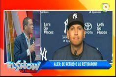 Frank Santana: ¿Alex Rodríguez, se retiro o lo retiraron? comentarios en El Show del Mediodía