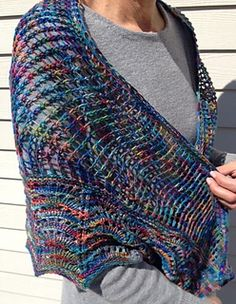 Wild Ride Shawl Pattern - The Minnesota Yarn Shop Hop 2014 highlighted Local Color throughout the Twin City area.