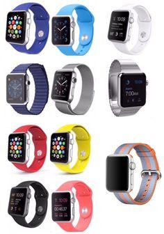 Mis pulseras del Apple Watch