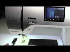 Bernina 770 60 Securing Function - YouTube