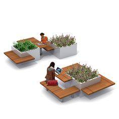 inrichtingssysteem buitenwerkplek voor datkterras - Gardening Go