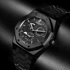 Image result for audemars royal oak black