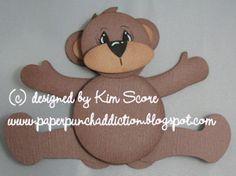 Beary Cute Paper Bear