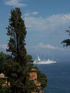 Wind Surf, June 2011 - Portofino, Italy. Photo by Ian M. | Windstar Cruise http://www.windstarcruises.com/