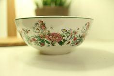 Lovely vintage Portmeirion fruit salad bowl featuring Summer Garland motif by LilyasminStudio on Etsy